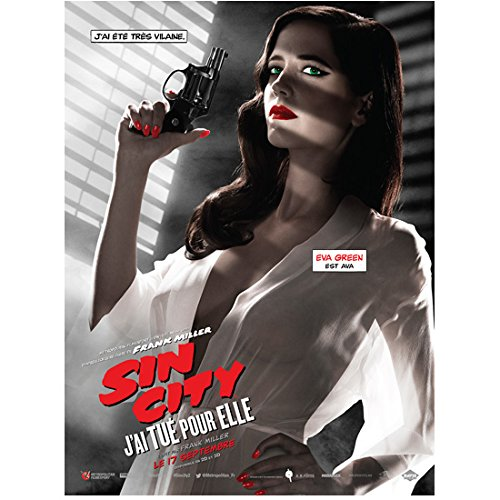 Eva Green as Eva in Sin City: A Dame to Kill For French Promo 8 x 10 Inch Photo
