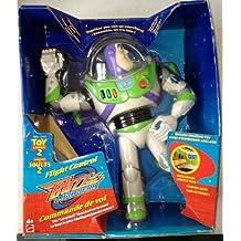 "Disney Pixar Toy Story 2 Flight Control Talking Buzz Lightyear 12"" Action Figure (1999 Mattel)"