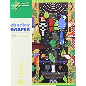 Charley Harper Birducopia 1000 Piece Jigsaw Puzzle Inglese