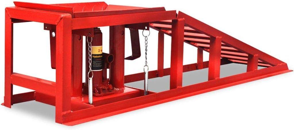 vidaXL 2X Rampas de Taller Mecánico para Reparar Coche 2 Toneladas ...