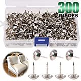 "Keadic 300Pcs 7/16"" (11mm) Antique Upholstery Tacks"