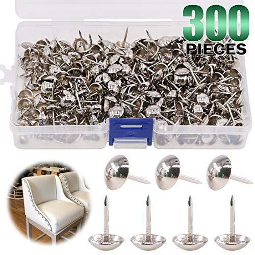 decotacks Upholstery Nails//tacks 7//16-100 Pcs DX0611Z Matt Antique Z Finish