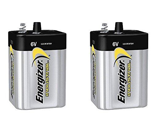 2 Pack Energizer Max 529 6V Lantern Battery by Energizer