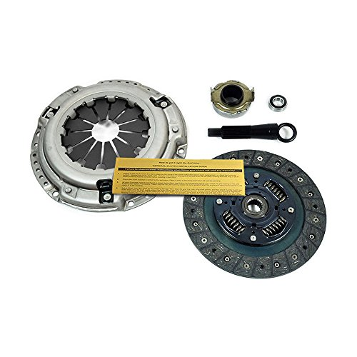 EFT HEAVY-DUTY CLUTCH KIT for 1992-2005 HONDA CIVIC DX LX EX GX HX 1.5L 1.6L 1.7L ()