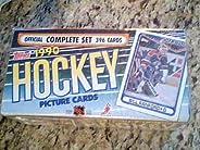 Topps 1990 Hockey Sport Cards, Offical Complete Set 396 Card Set, New & Se