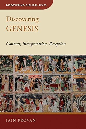Discovering Genesis: Content, Interpretation, Reception (Discovering Biblical Texts (DBT)) cover
