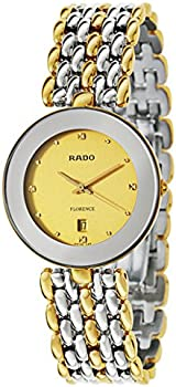 Rado Men's Florence Goldplated Swiss Quartz Watch