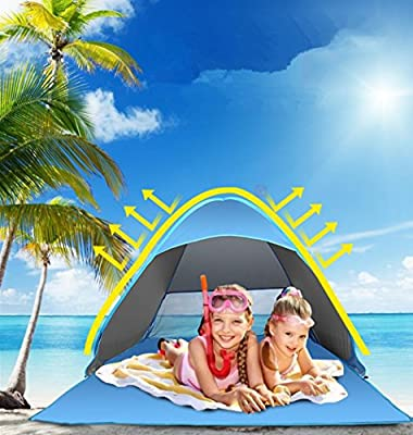toldo port/átil Sunshade Color 2.1m x 2.1m Neso Tienda de campa/ña Tents Beach con Ancla de Arena Esquinas reforzadas patentadas