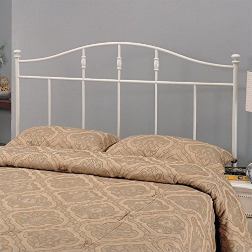 Coaster 300183QF Home Furnishings Headboard, Queen/Full, White by Coaster Home Furnishings