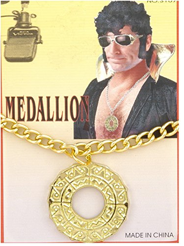 Forum Novelties 70s Disco Fever Medallion