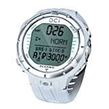 Oceanic OCi Wireless Dive Watch Computer - Watch Only For Scuba Diving - White