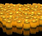 Banberry Designs LED Lighted Flickering Votive Style Flameless Candles - Banberry Designs - Box of 192 - Wedding Decorations - Faux Candles - Flameless Candle Set – Centerpieces