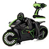 Metakoo 1/18 Scale Electric RC car Off Road High Speed Remote Control Vehicle 2.4 GHz 2WD 20km/h Hobby Truck,Green
