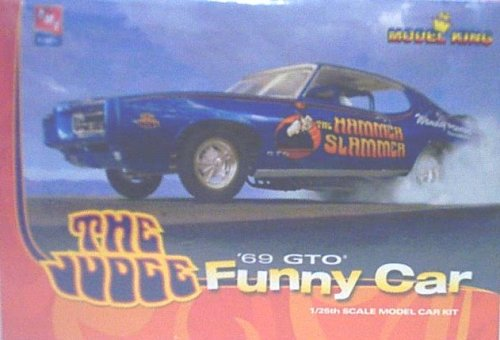 1969 Pontiac GTO Judge Funny Car Flip by Model King (Gto Model Car)