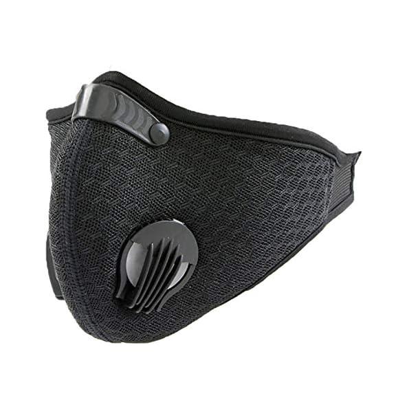 4sold-Staubmaske-Atemmaske-Mesh-Mundschutz-Mundmaske-5-lagigem-Filter-Waschbar-Staub-Schutz-Maske-Ersatzfiltern-Anti-Pollen-Allergie-Mit-Ventil-Motorrad-Radsport-Outdoor-aktivitten-Peas-Grey