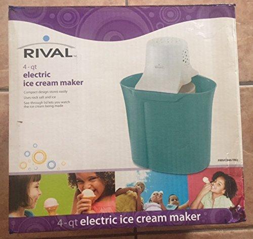 sunbeam 4 quart ice cream maker - 4