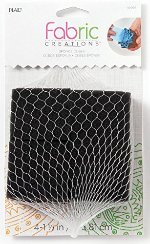 (Fabric Creations Block Printing Sponge Cubes, 26995 (4-Pack))