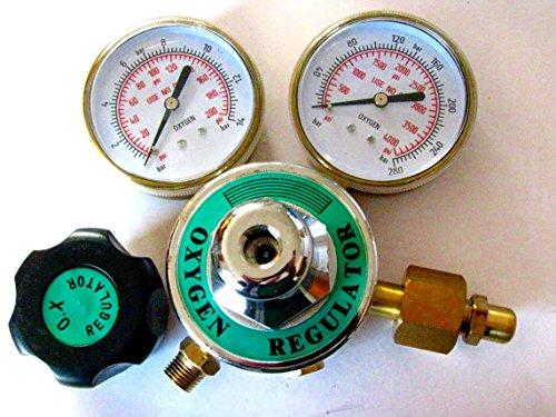 Devardi Glass Lampwork, Beadmaking (or Welding) Heavy Duty Oxygen Regulator - Glass Regulator