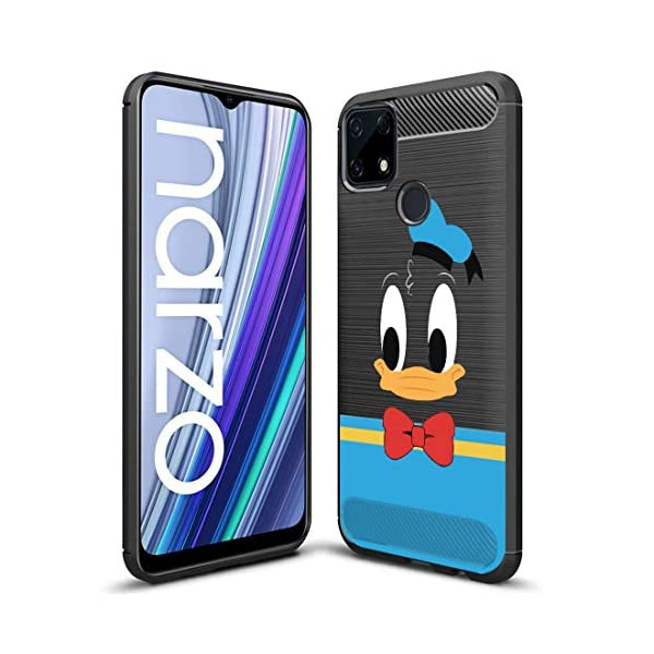 Fashionury Realme C25s / Realme Narzo 30A/ Narzo 20/ Realme C12 Printed Rugged Armor Designer Pouch Mobile Back Cover… 2021 August Compatibility - Designed for Realme Narzo 30A Reliable Protection - This Desginer cover provide full 360* protection to the mobile, As, It covers from the four sides of your phone. This cover helps to protect your phone from Accidental Drops, Bumps and Scretches. Installation - Simply has to unbox the cover and has to apply directly, No Tool is required. Completely Scratch Resistant, Protective