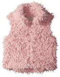 Lucky Brand Little Girls' Toddler Faux Shearling Vest, Cameo Pink, 2T