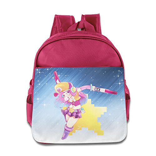 D2 Cool Miss Fortune Cartoon Kids' Backpack For 3-6 Years Old Toddler Kids Pink Size One Size