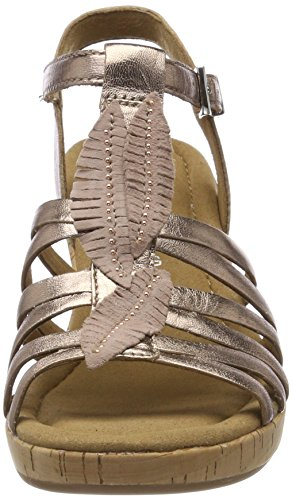 Gabor Women's Metallic Leather Uppers Ankle Strap Sandals Multicolor (Rame Kork) excellent online discount wholesale 2015 new cheap online I6hk3A