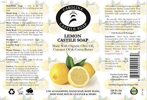 Lemon Castile Soap (1 Gallon)