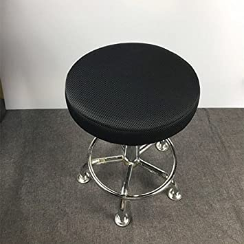 13u0026quot; Round Bar Stool Cover, Breathable Fabric To Protect Or Make Your  Stool Chair