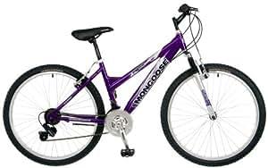 Mongoose Montana Women's Mountain Bike (26-Inch Wheels, Purple/Silver)