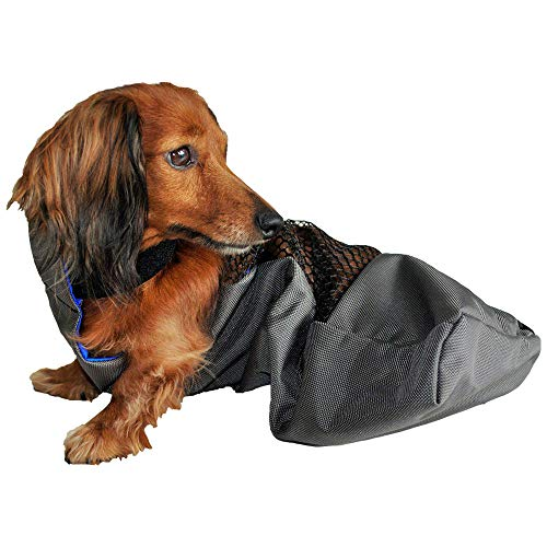 K9 Carts – Protect-A-Pet – The Original Drag Bag for Paralyzed Pets – Water Resistant, Durable Nylon, Machine Washable