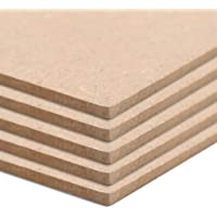 Festnight Tablero MDF Cuadradas Tablones de Madera Ideal