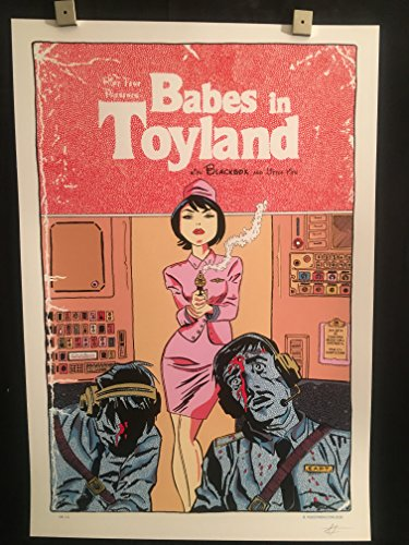 (Babes In Toyland, Blackbox, Lil Tits Chicago 1/28/16 Concert Poster, Concord Music Hall, Signed/Numbered, Fugscreen)