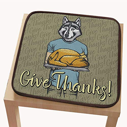 - Chair padchair pad seat cushionVector Illustration of Thanksgiving Husky Dog Concept 16