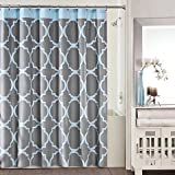 Amazon.com: Grey - Shower Curtains / Shower Curtains, Hooks ...