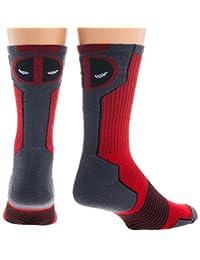 Marvel Deadpool Mens' Active Crew Socks