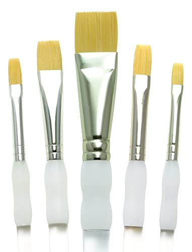 Royal & Langnickel SG-304 5 Piece Flat Brush Set