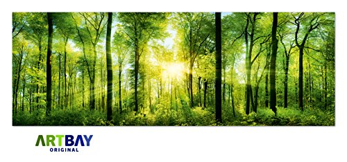 panoramic forest poster