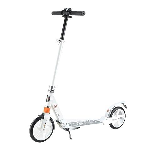 Patinete- Kick Scooter Blanco para Niños/Adulto ...