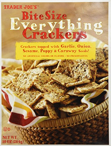 Trader Joe's Bite Size Everything Crackers by Trader Joe's