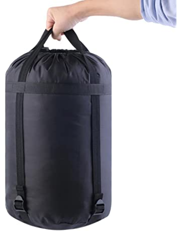 Bolsa de nailon impermeable tipo saco para deportes, para guardar artículos de forma compacta,