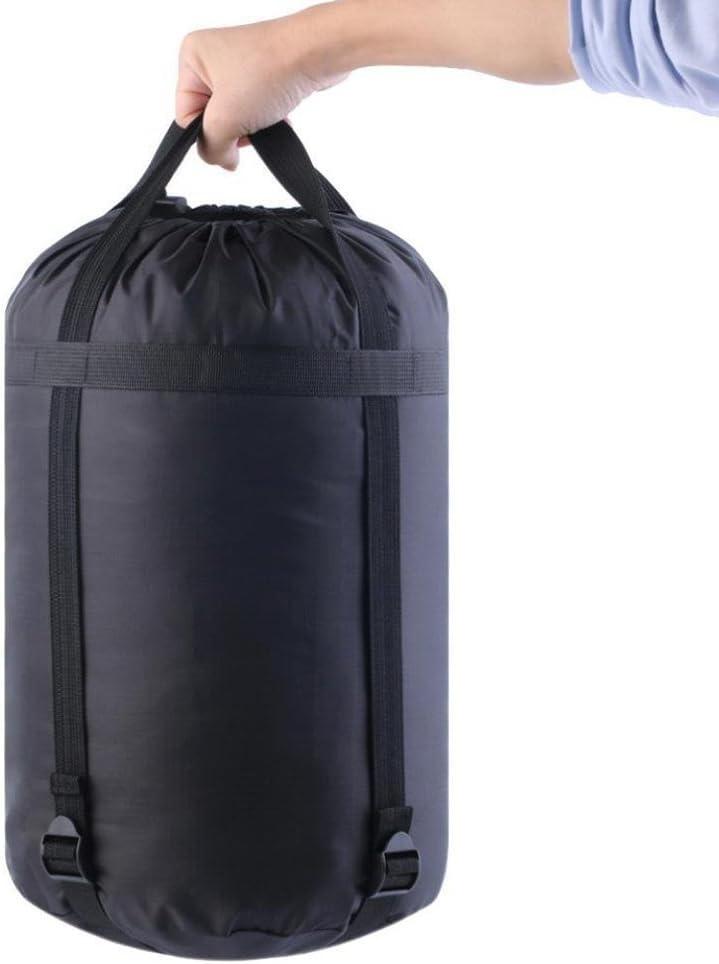 Bolsa de nailon impermeable tipo saco para deportes saco de dormir bolsa para actividades al aire libre para guardar art/ículos de forma compacta acampada