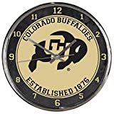 WinCraft NCAA Colorado Golden Buffaloes Chrome Clock
