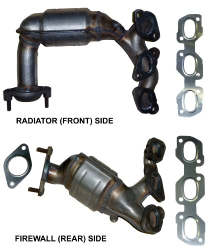 2004-mazda-tribute-30-v6-catalytic-converter-manifold-set-side-radiator-front-bank-2-lhs-and-side-fi