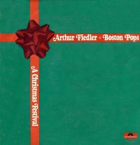 Arthur Fiedler & The Boston Pops: A Christmas Festival (Polydor) [Vinyl LP] [Stereo]