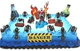 Marvel Super Hero Avengers ANT-MAN Birthday Cake Topper Set Featuring Ant Man and Decorative Themed Accessories