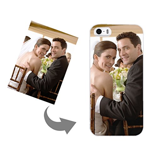 Personalized Phone Protective Case for IPhone 5/5s -- Transparent Phone Case Cover Super Thin Customized Photo Phone Shell Soft Silicon Waterproof