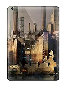 Ipad Air Case Cover Skin : Premium High Quality City Case Sending Screen Protector in Free