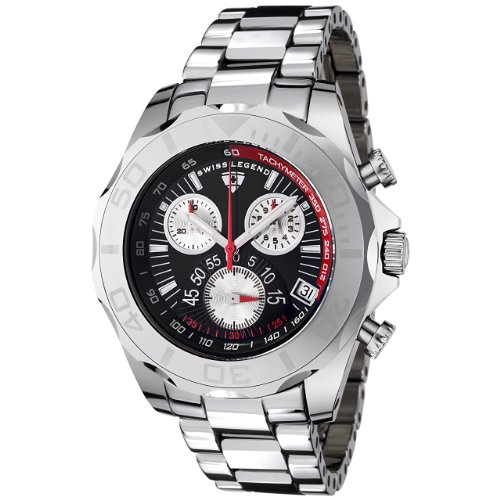 Swiss Legend Men's T8010-11 Tungsten Pro Collection Chronograph Watch