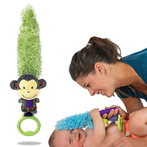 Yoee Baby Monkey Premium Multi-Purpose Newborn Toys and Baby Development Toys 0-18 Months