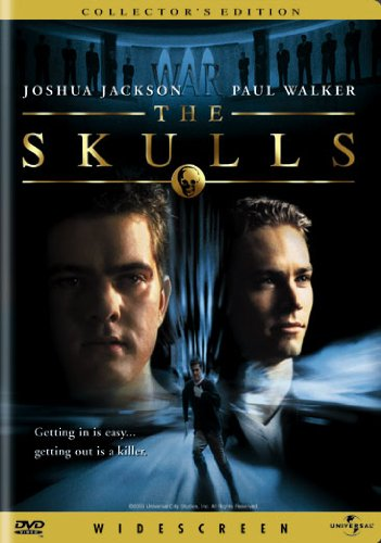 THE SKULLS (COLLECTORS EDITION) MOVIE from UNI DIST CORP. (MCA)